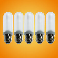 5PCS 150W Studio Light Modeling Lamp Bulb E27 Socket for Flash Strobe 110V 120V