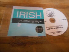 CD Rock Agent Side grinder-Irish Recording Tape (8 chanson) PROMO klangarkuvet