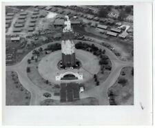 1945 Camouflaged Water Tower Hickam Field Hawaii Original News Photo