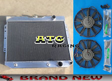 Aluminum Radiator & Fans for 1959-1963 chevy IMPALA / 1960-1965 BEL AIR/Biscayne