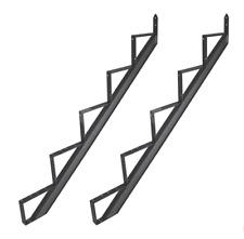 Gartentreppe Aluminium Treppenrahmen 2 - 6 Trittstufen