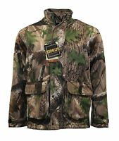 Mens Stormkloth Waterproof Camouflage Trek Camo Hunting Shooting Fishing Jackets