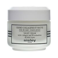 Sisley Night Cream with Collagen & Woodmallow 1.6oz,50ml Skincare Firming