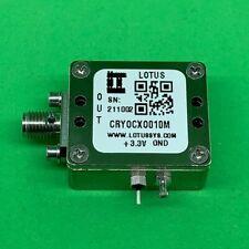 Oscillator Ocxo Stratum 3 10 Mhz 25 Ppb In Enclosure Smallest Module