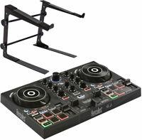 Hercules DJControl Inpulse 200 2-Deck DJ Controller + keepdrum Laptopständer