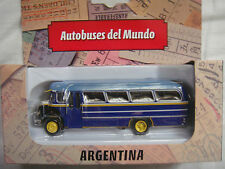 ARGENTINA MERCEDES BENZ BUS 1:72 - IXO, DIECAST, METAL, RARE BRAND NEW IN BOX.!