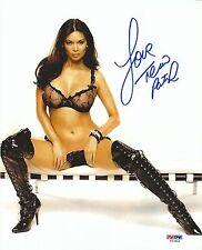 Tera Patrick Signed 8x10 Photo PSA/DNA COA Picture Autograph Penthouse Hustler Q