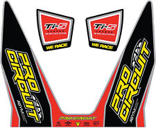 PRO CIRCUIT TI-5 DECALS REPLACEMENT MUFFLER STICKERS
