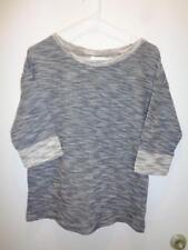 COLUMBIA nwt gray womens rockaway run 3/4 sleeve knit sweater shirt top S