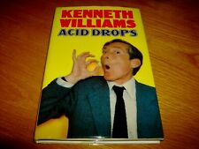 KENNETH WILLIAMS-ACID DROPS-SIGNED-1ST-VG/NF-1980-HB-DENT-VERY RARE