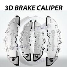 4pcs Silver 3D Styling Disc Brake Caliper Cover Kit For Kia 16-18 inch wheels