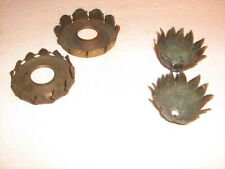 Vintage Electric Lamp Socket Canopies, 2 Matching