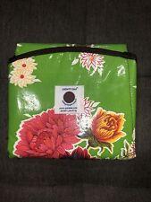 Euc Patemm Round Diaper Changing Pad ~Green Floral