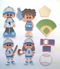 3D UPick Baseball Basketball Sport   Scrapbook Card Embellishment S1