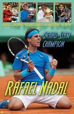 Rafael Nadal GRAND SLAM CHAMPION Historic Tennis Commemorative POSTER