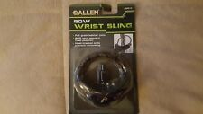 Allen Bow Wrist Sling New in Unopened Package Full Grain Leather