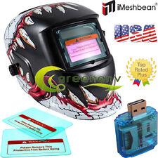 FG pro Solar Auto Darkening Welding Helmet Arc Tig mig certified mask grinding$$
