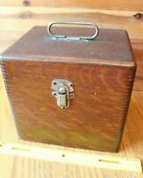 The Apollo Medical Apparatus Quack Medicine Device Shock Therapy BOX ONLY wooden