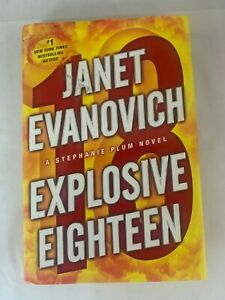 Explosive Eighteen Book Hard Cover By Janet Evanovich LB13