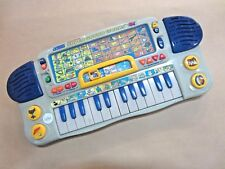 VTECH LITTLE SMART SUPER SOUND WORKS SYNTHESIZER MUSICAL TOY PIANO ~ GOOD COND