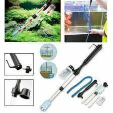 Electric Aquarium Cleaner Vacuum Water Change Gravel Cleaner Fish Tank Tool Set