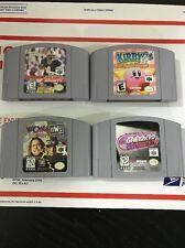 Nintendo 64 Lot Of 4 Games.