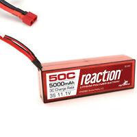 Dynamite Reaction 11.1V 5000mAh 3S 50C Hardcase LiPo Battery Deans Connector
