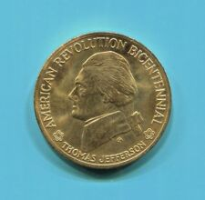 New listing Thomas Jefferson - American Revolution Bicentennial (1776 - 1976) Bronze Medal