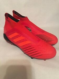 Adidas Predator 19+ FG Firm Ground Soccer Cleats BC0547 US Men's Size 9 New
