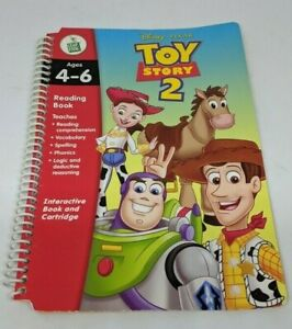 Leap Frog LeapPad Disney Toy Story 2 1st Grade Book Only (no cartridge)