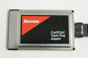 XIRCOM CT-16CTP CREDITCARD TOKEN RING ADAPTER PCMCIA WITH DB9 CABLE