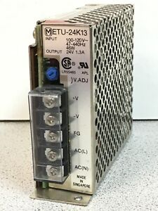 Matsushita ETU-24K13 Power Supply Output 46W 24V 1.3A Adjustable 100-120VAC