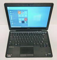 """Dell Latitude E7240 Laptop Core i7-4600U 8GB 128GB SSD 12.5"""" HD Windows 10 Pro"""