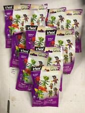 K'nex Plants Vs Zombies Series 4 Figurines, LOT Of 10 Blind Packs To Love!