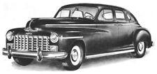 33-pc Weatherstrip Set for 1941-1948 Dodge - DeSoto - Chrysler 4-Door Sedans