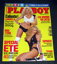 "Rare TORRIE WILSON & SABLE RENA MERO LESNAR - FRENCH ""PLAYBOY"" MAGAZINE 2004 WWE"