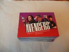 THE AVENGERS SERIES ONE 100 Base & 12 Foil Card Set Strictly Ink 2003