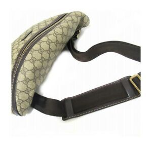 Authentic Gucci 211110 GG Stars Belt Bag (7210103)