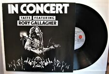 """TASTE FEATURING RORY GALLAGHER """"IN CONCERT"""" RP (AIROLA 25001T; D-1978)  VG++"""