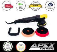 Apex Customs Sensei Plus 15mm Dual Action DA Polisher + 2x German Foam Pad Kit