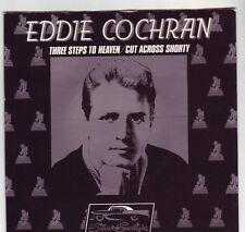EDDIE COCHRAN THREE STEPS TO HEAVEN 45 IN PICTURE SLEEVE