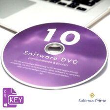 Windows 10 Professional 64 Bit OEM Software DVD + Aktivierungsschlüssel Key