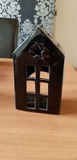 Black Cottage Tea Light Holder