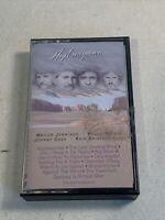 Highwayman 1985 Cassette Tape Waylon Willie Johnny Cash Kris Kristofferson