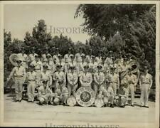 """1952 Press Photo The 14th Air Force band also known as the """"Flying Bandsmen"""""""