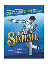 Half A Sixpence Learn to Play West End Musical PIANO VOCAL Selections MUSIC BOOK