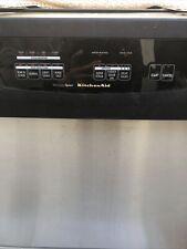 KitchenAid dishwasher whisper quiet 24w24d35 trash compactor 15w34 1/8 Lot Used