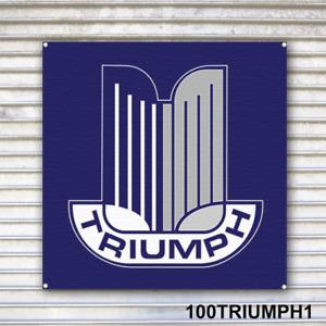 Triumph Automobile Banner Sign