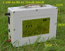 Lithium 12v 200Ah Rechargeable Deep Cycle Battery with Home Charger BMS Solar RV