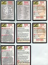 Star Wars CCG Tatooine Complete 8 Extra Card Set [List & Rules]